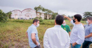 Prefeito JHC prestigia início das obras da Havan em Maceió